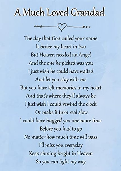 Still hurts so much😭 I love you more then you will ever know grandad 💔❤