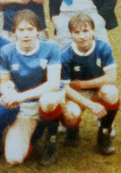 Billy in his Rangers days