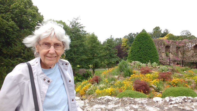 Atte how you enjoyed the day with us at Leeds castle on your 88th birthday, A very happy memory to treasure.