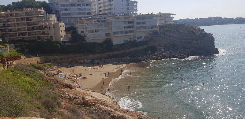 Dad's beach
