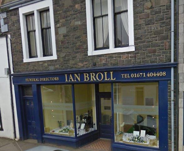 Ian Broll Funeral Director