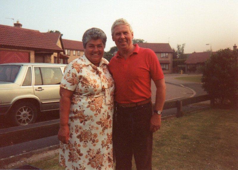 Margaret & Sid in 1993