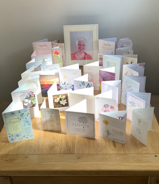 Thank you to all, for your cards thoughts and prayers.  From Ian, Michelle, Dean and family.