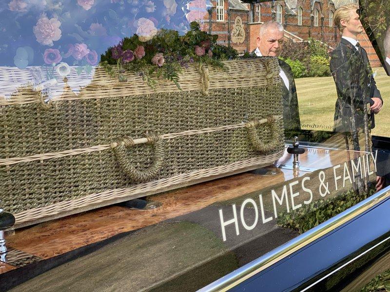 Holmes & Family, Ashford, Surrey, funeral director in Surrey