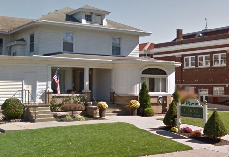Cook Funeral Home, Brookville