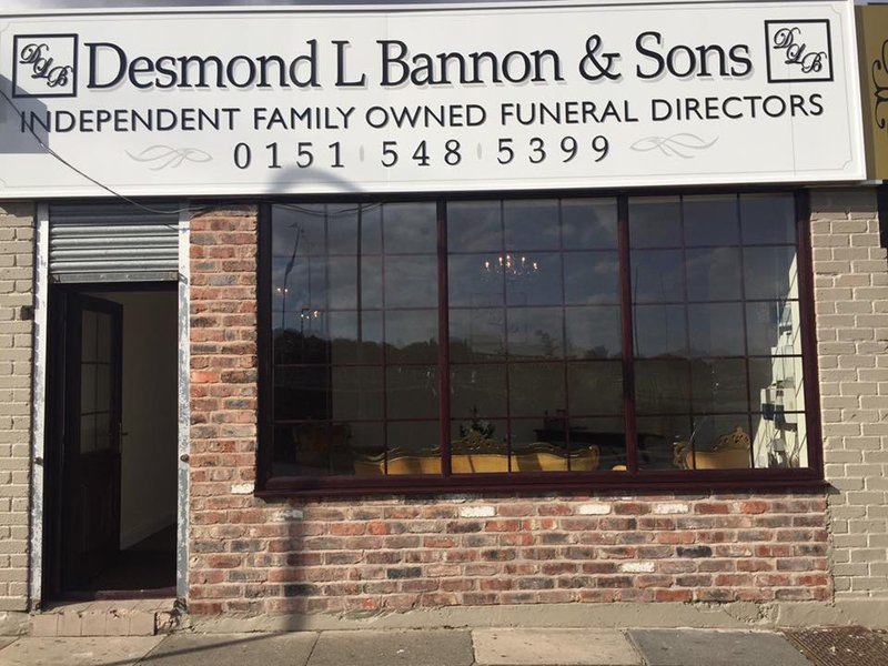 Desmond L Bannon & Sons, Elwy Lodge, Merseyside, funeral director in Merseyside
