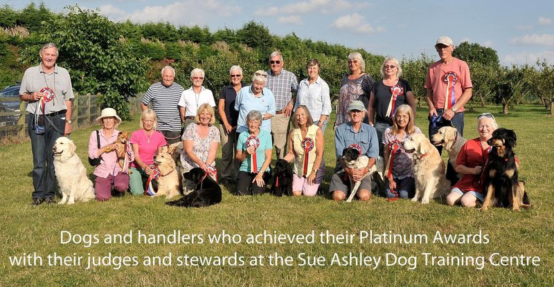 Platinum Class awards 2014 with Beverley and Millie passing with honours