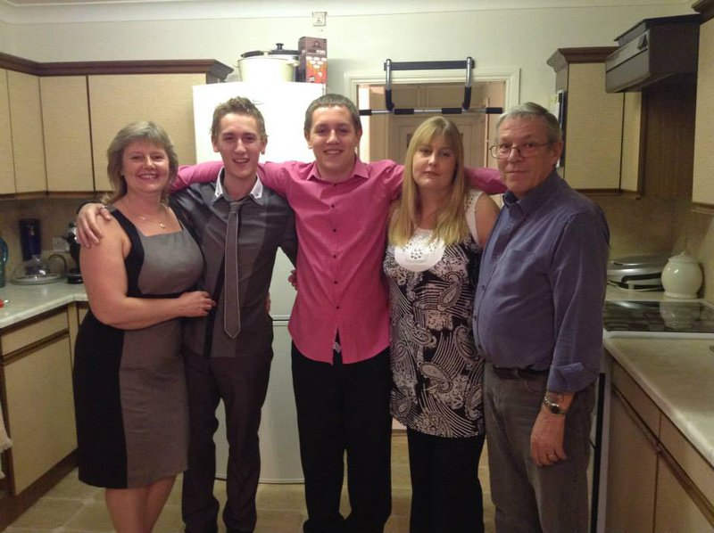 My Dear Son In Law Stephen Evans . Taken in Happier Times with My Precious Daughter Lisa & Grandchildren. Kelly Daniel & Bradley.                      R.I.P. Steve you will be loved & remembered Always. xxxxx
