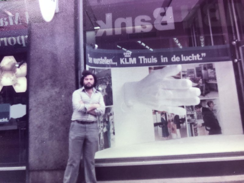 Amsterdam holiday 1975, what a great time we had!