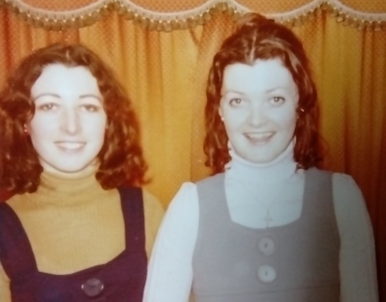 Tricia and her sister Helen.