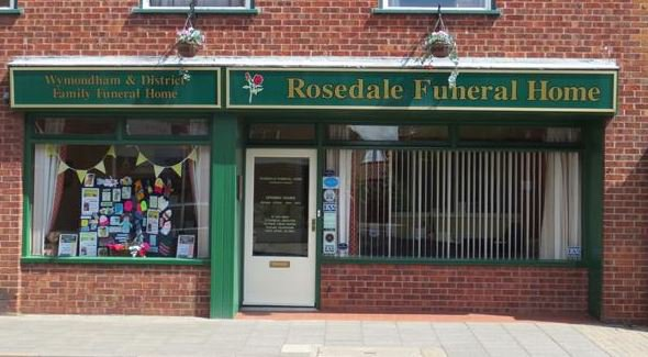Rosedale Funeral Home, Wymondham, Norfolk, funeral director in Norfolk