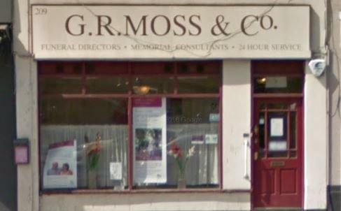 G R Moss & Co Funeral Directors