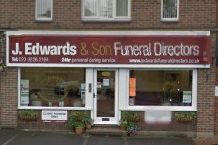 J Edwards Funeral Directors, Waterlooville