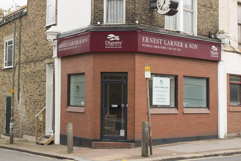 Ernest Larner & Son Funeral Directors, Clapham Junction