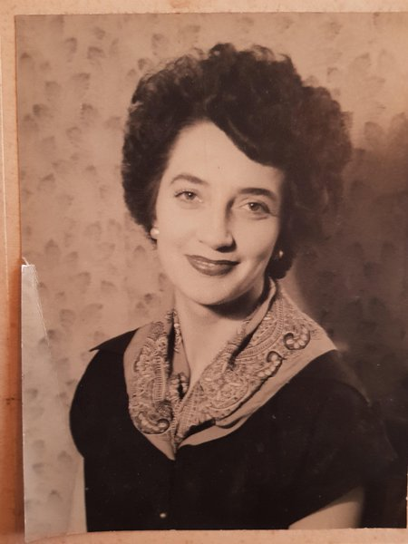 Mum in younger days.