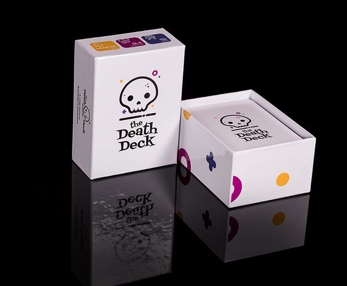 The Death Deck game in box