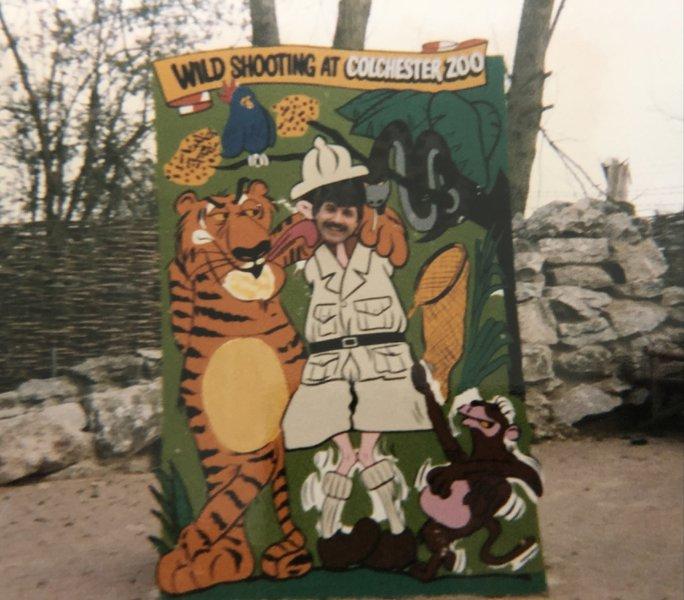 Always monkey- ing around at the zoo!