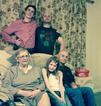 Our last Christmas together nanny.