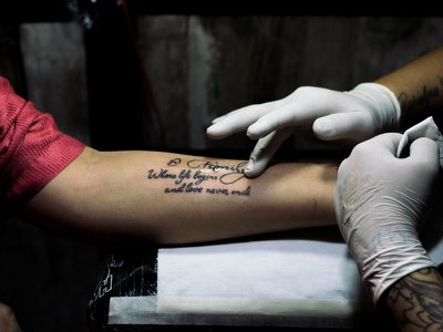 Why the bereaved are getting memorial tattoos