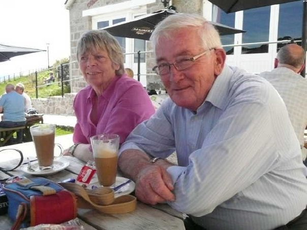 Mum and Dad in happier times