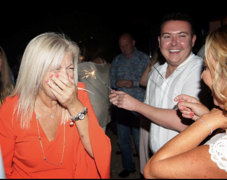 The fun & cheeky laughter we had x many wonderful Memories x
