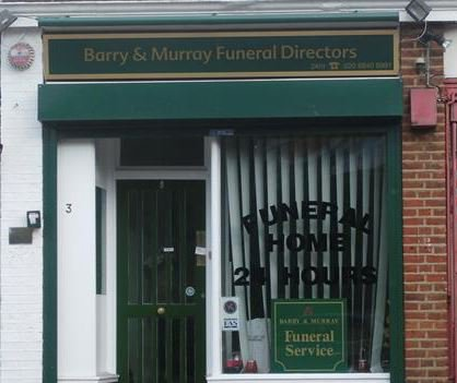 Barry & Murray Funeralcare, Hanwell