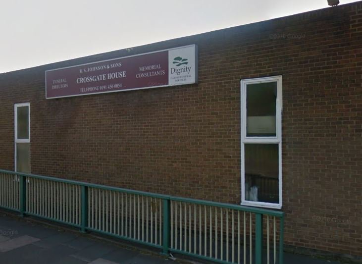 R S Johnson & Sons Funeral Directors, South Shields