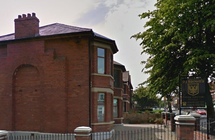 P J Browns Belfast Ltd, Falls Rd