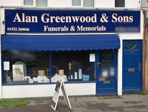 Alan Greenwood & Sons Hersham, Surrey, funeral director in Surrey