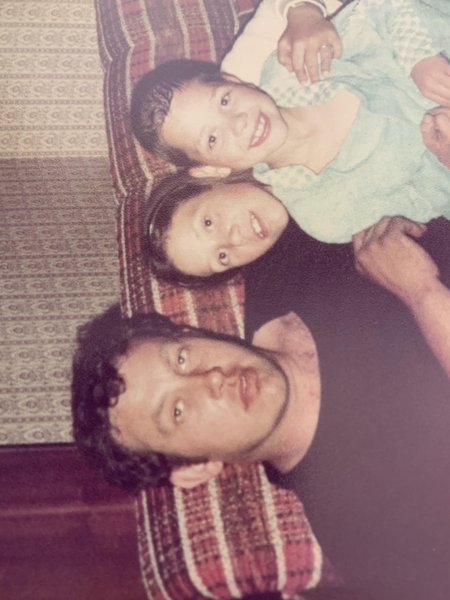 Our Dad me and Paul