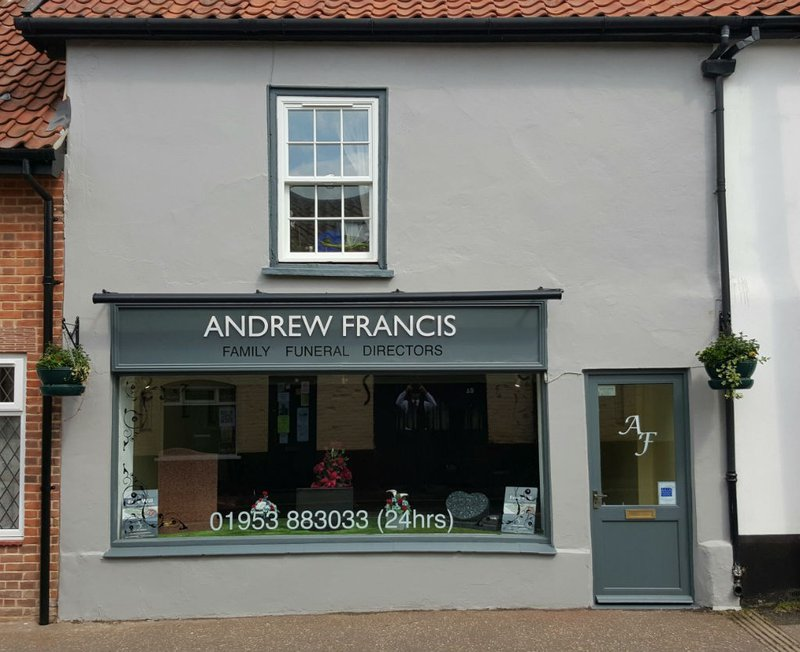 Andrew Francis Funeral Service, Watton, Norfolk, funeral director in Norfolk
