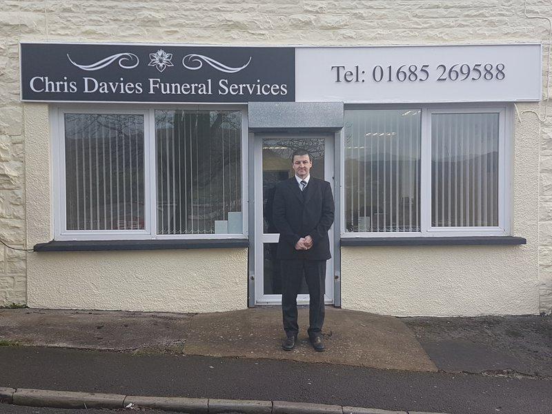 Chris Davies Funeral Service