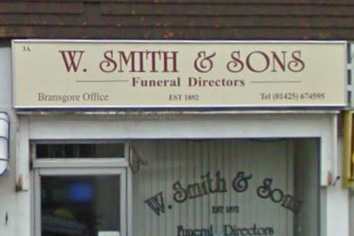 W Smith & Sons Ltd, Christchurch