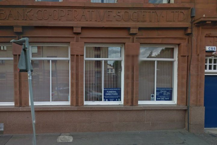 Clydebank Co-operative Funeral Society Hume Street