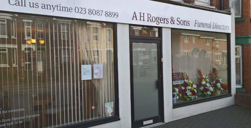 A H Rogers & Sons Funeral Services, Shirley