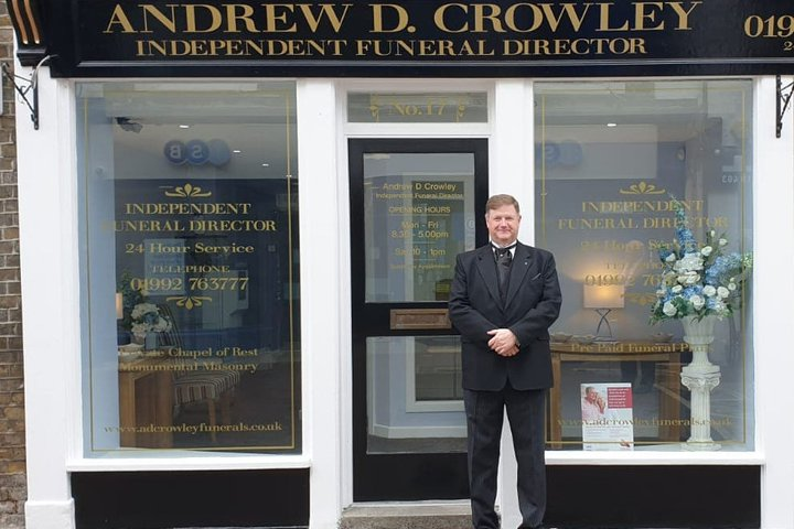 Andrew D Crowley Independent Funeral Director