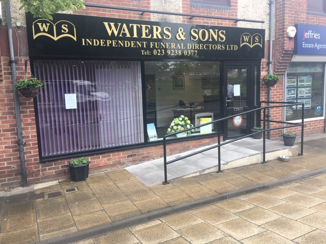 Waters & Sons Independent Funeral Directors Ltd, Portchester, Fareham, funeral director in Fareham