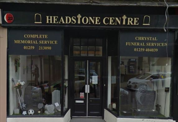 Chrystal Funeral Services Limited, Alloa