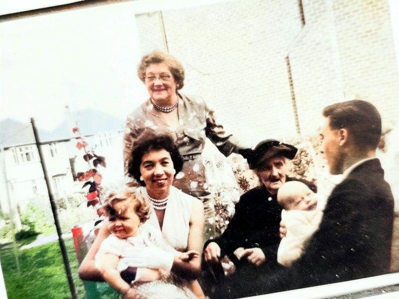 Happy memories of dear Aunty Joy.