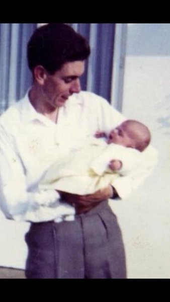 Me and my dad august 1965