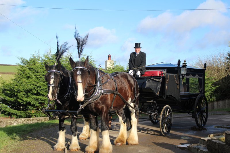 R P Byrom & Son Funeral Directors, Devon, funeral director in Devon