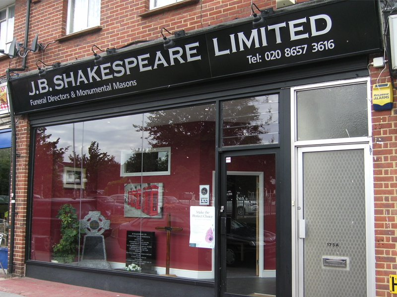 J.B. Shakespeare Ltd Selsdon
