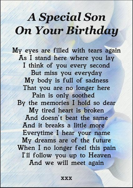 Happy birthday child of our hearts missed every single day xx