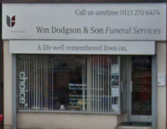 Wm Dodgson & Son Funeral Services, Middleton Park