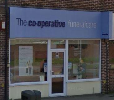 Co-operative Funeral Directors, Gosport Rowner
