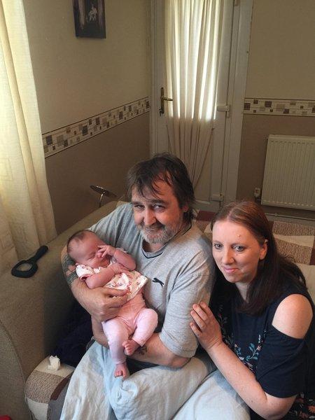Jamie & debbie & little poppy
