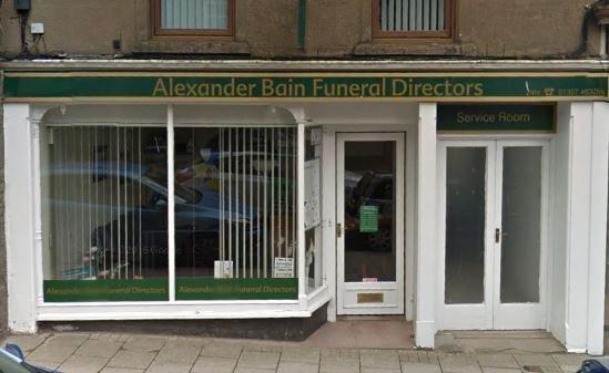 Alexander Bain Funeralcare, Forfar