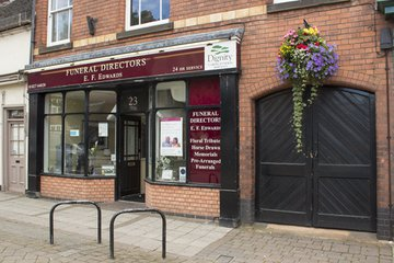 E F Edwards Funeral Directors, Tamworth