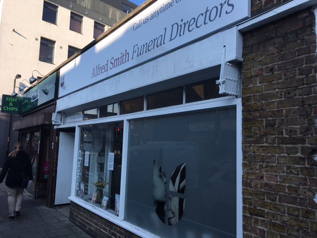 Alfred Smith Funeral Directors, Southwark