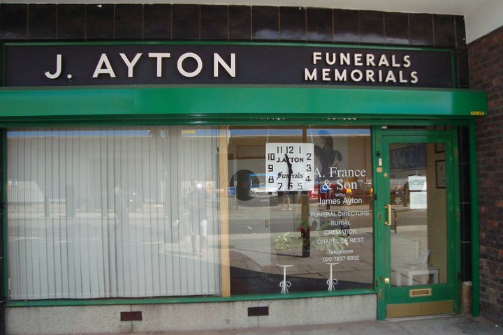 A. France & Son (with James Ayton), King's Cross Office